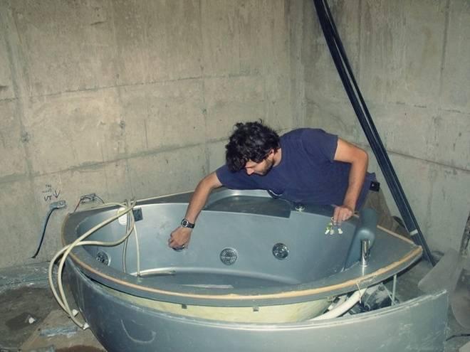 Ванны-джакузи и тонкости их установки