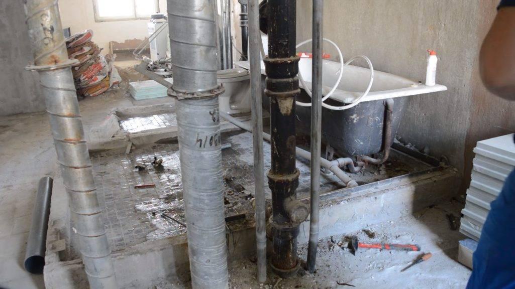 Замена труб водоснабжения в квартире в москве и московской области