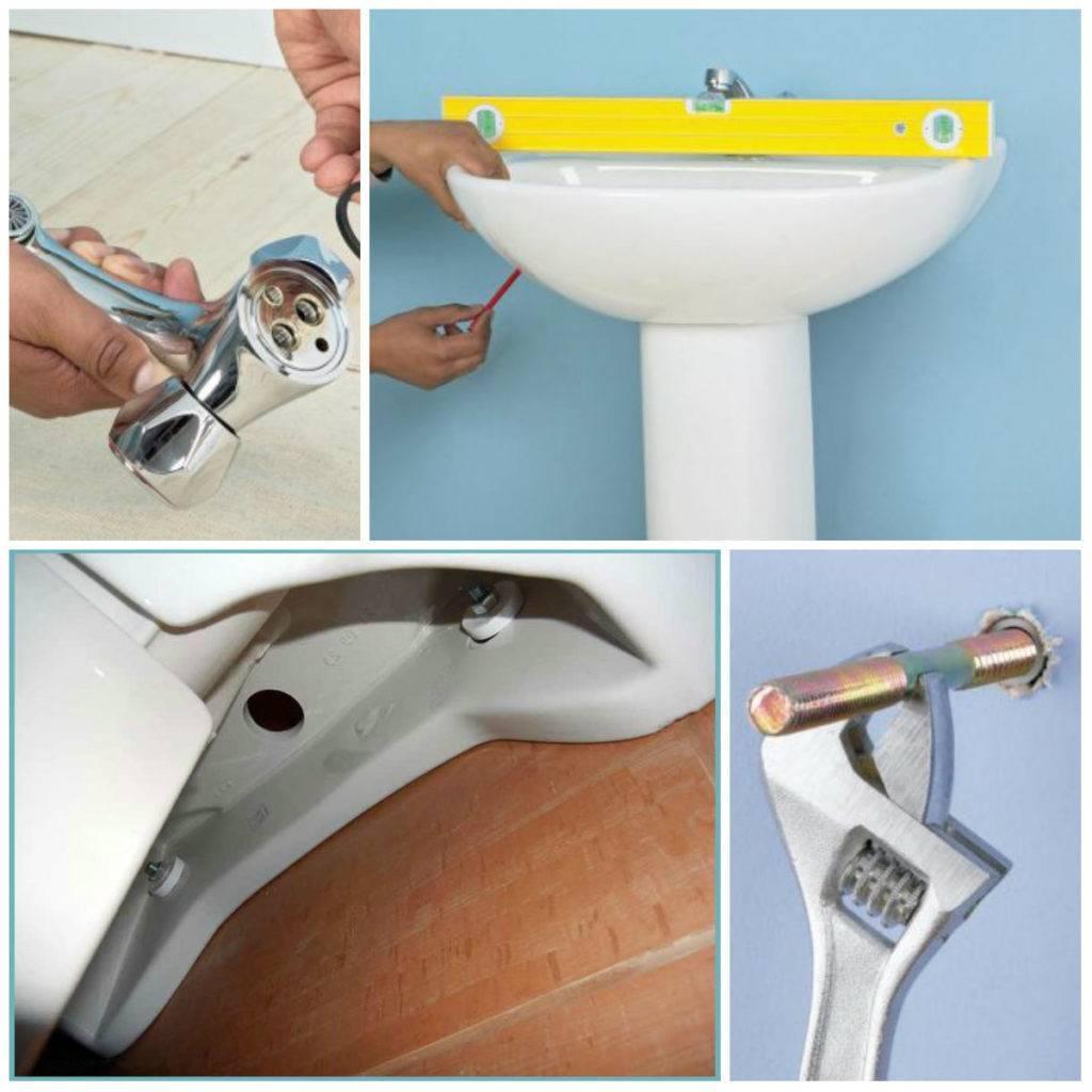 Как установить раковину с пьедесталом в ванной качественно собственноручно