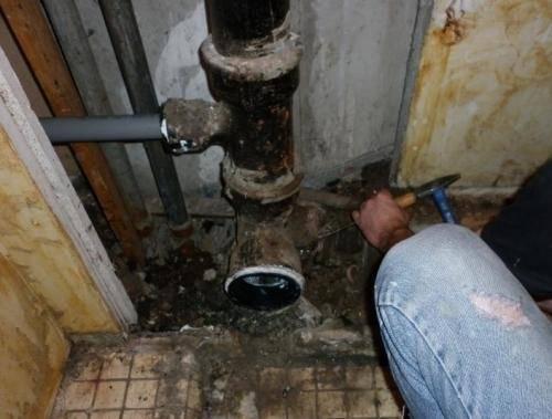 Чугунные канализационные трубы (для канализации) - размеры, монтаж, как разобрать, переход с чугуна на пластик