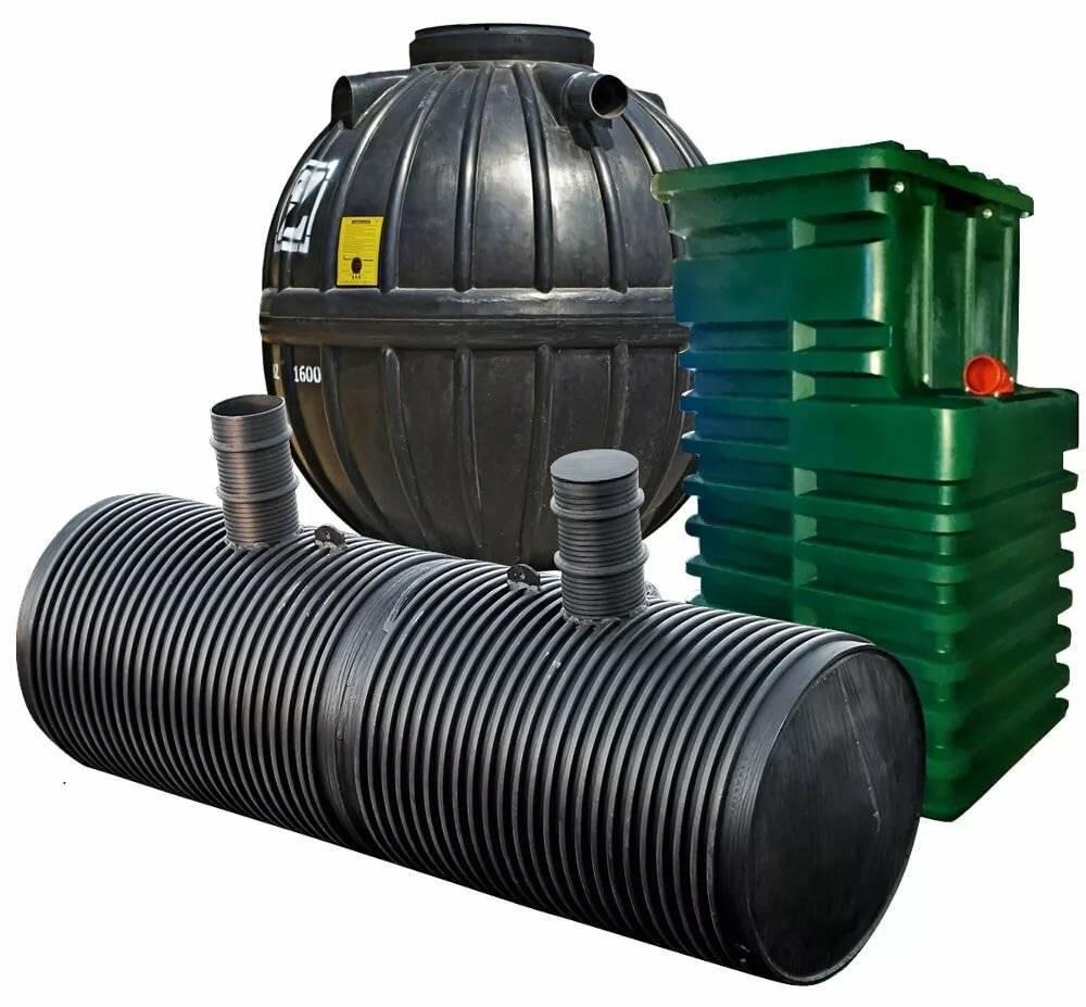 Особенности канализационных емкостей из пластика