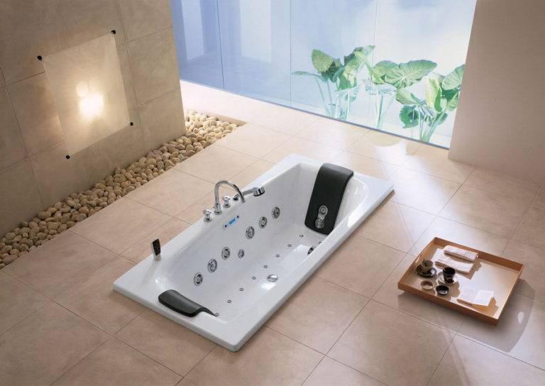 Установка и подключение гидромассажной ванны своими руками и схема монтажа