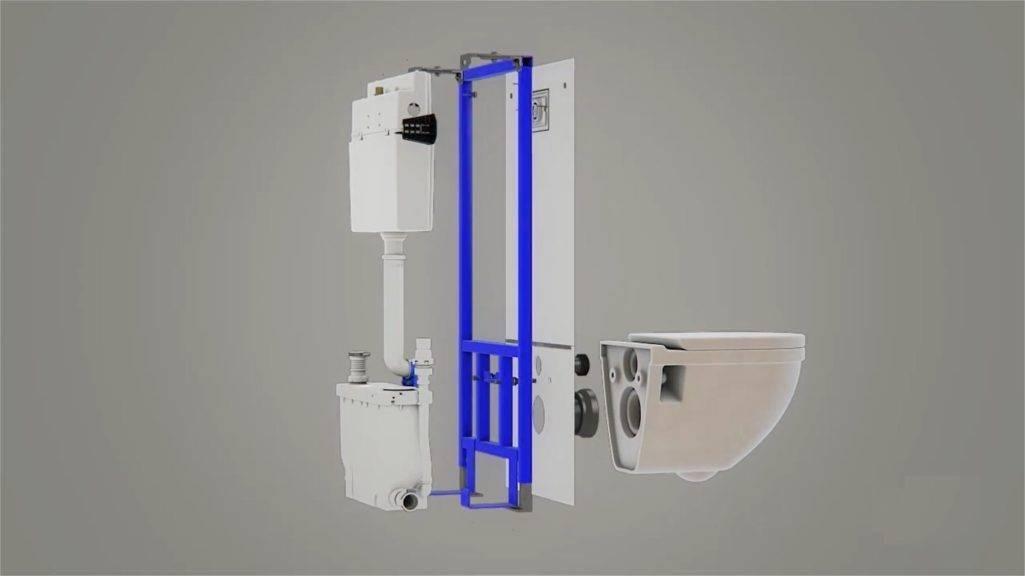 Насос измельчитель для унитаза: унитаз со встроенным фекальным насосом измельчителем, принцип работы, характеристики, установка