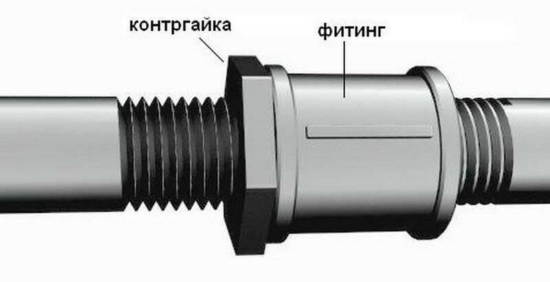 Простое соединение труб без применения резьбы и сварки