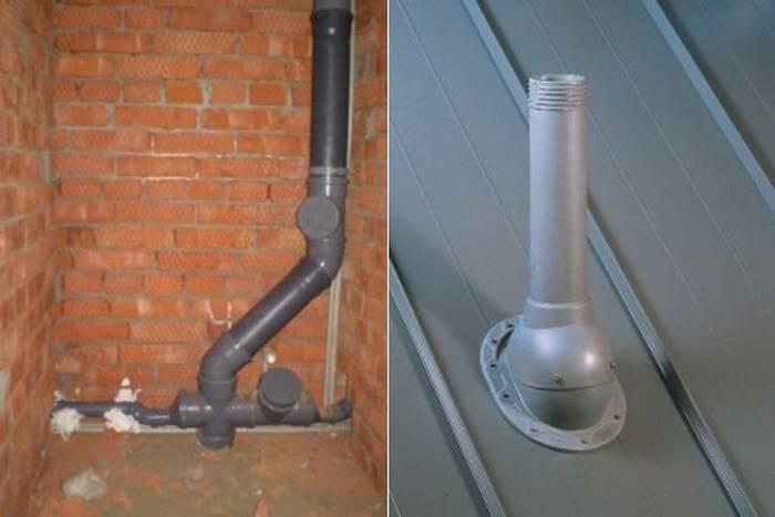 Вентиляция канализация в частном доме - порядок монтажа | стройсоветы