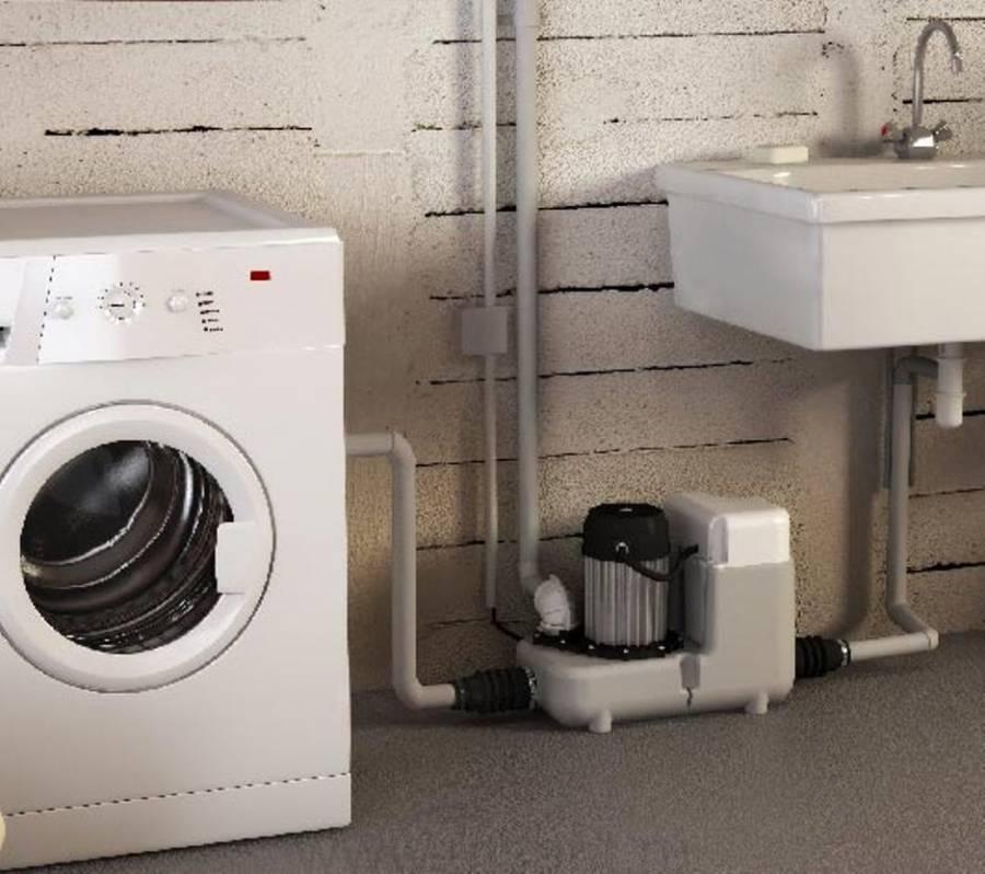 Канализационный насос для кухни в квартире под раковину