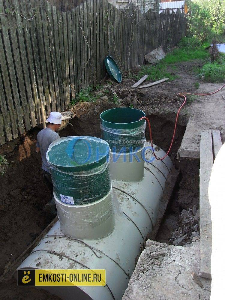 Септик биокси — система очистки для дачи и дома