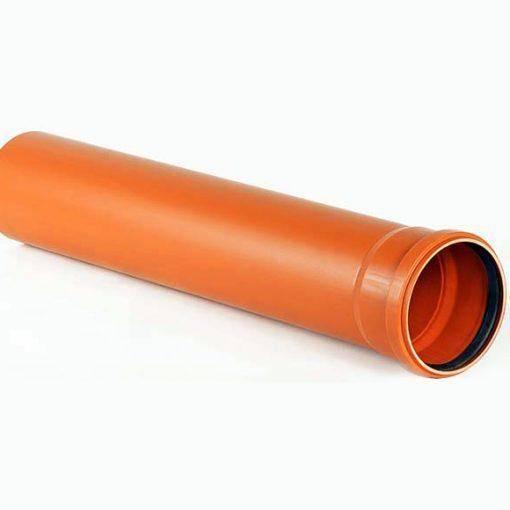Труба канализационная наружная: требования, характеристики, размеры