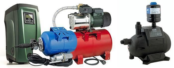 Насосная станция для скважины: как установить насосную станцию на скважину, установка в скважину на воду станции подачи воды, забор воды из скважины