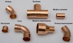 Соединение медных труб обжимными фитингами - трубы и сантехника