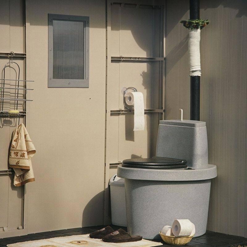 Компостирующий туалет для дачи: его устройство и принцип его действия +Фото и Видео