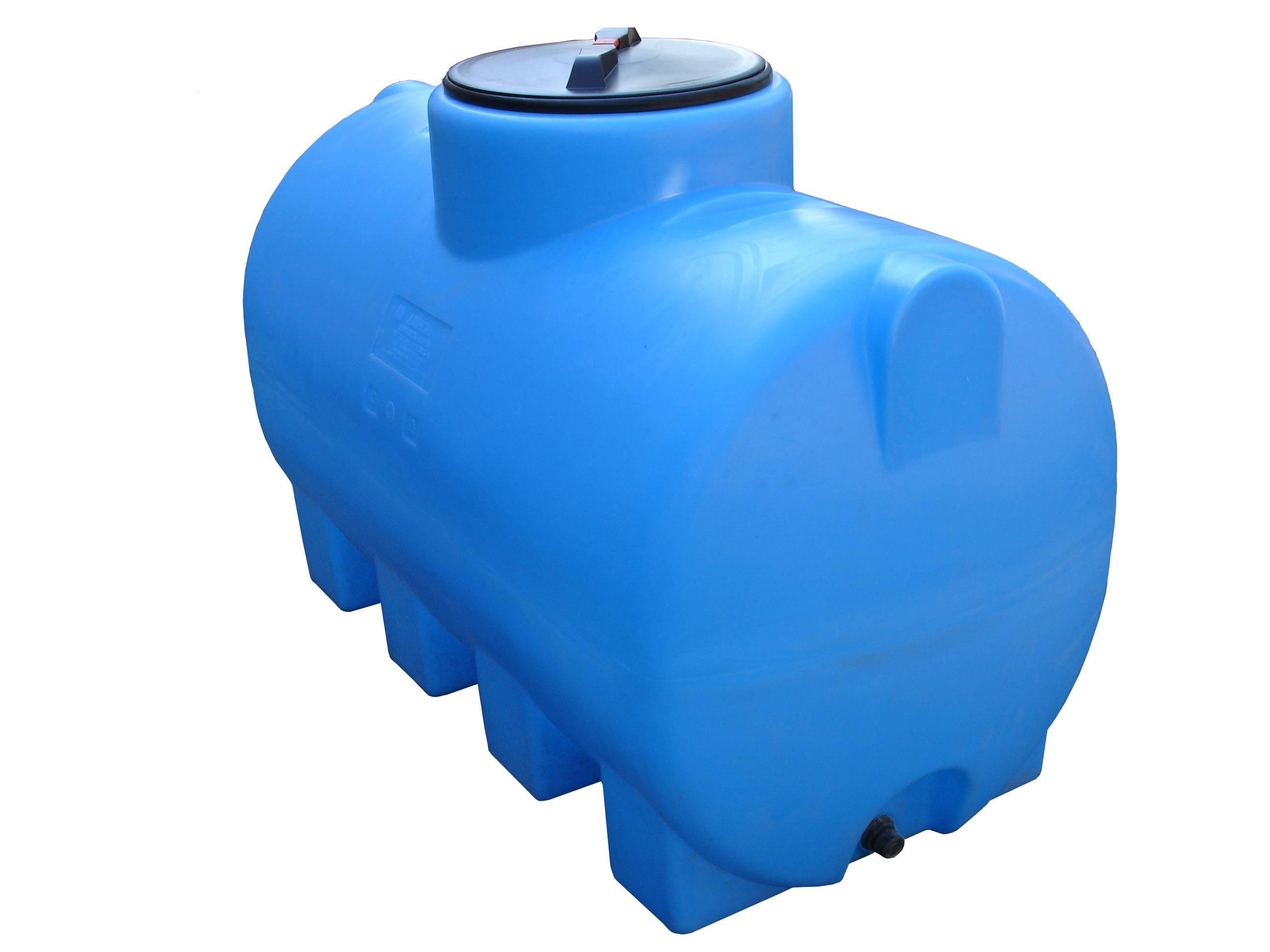 Вертикальные емкости для воды пластиковые.