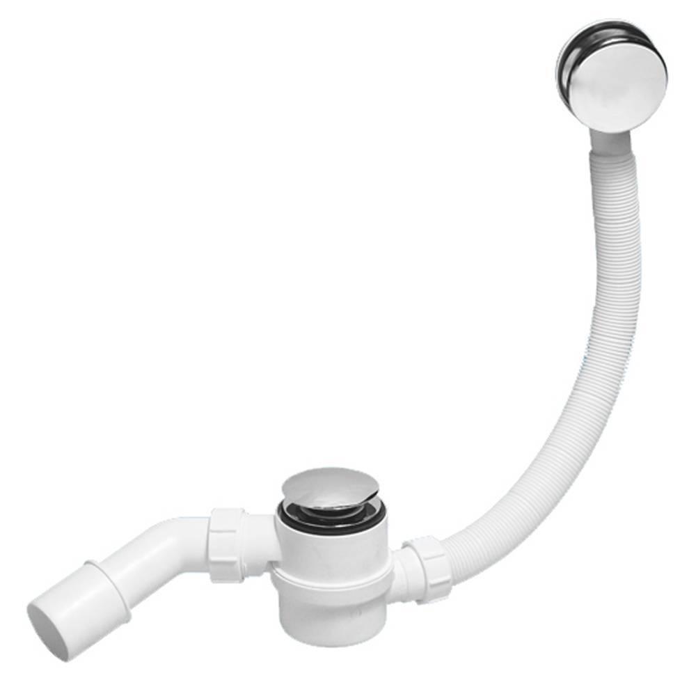 Сифон для ванной с переливом — виды и технические хартеристики (фото, видео)
