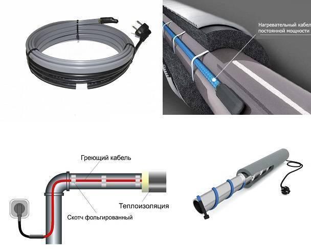 Греющий кабель саморегулирующийся для обогрева труб: устройство, принцип работы, монтаж своими руками - vodatyt.ru