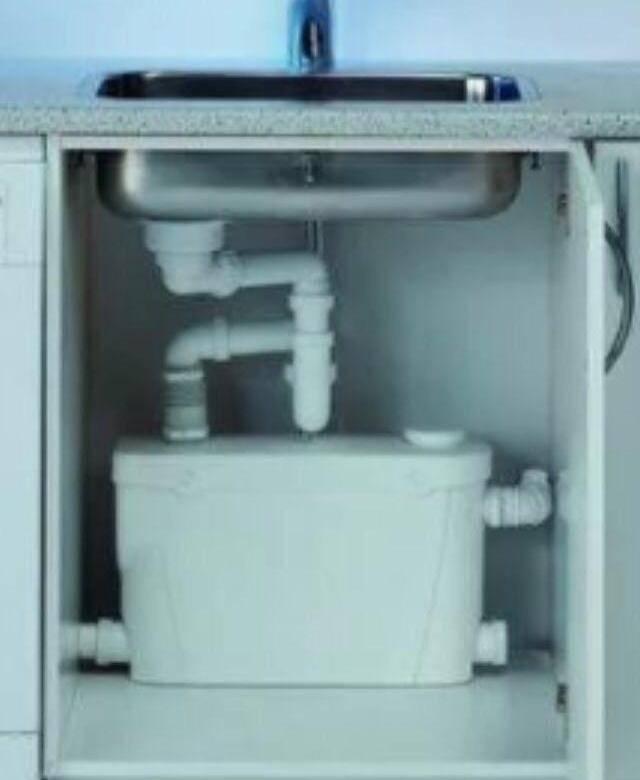 Современный канализационный насос для кухни — vsyakuhnya.ru