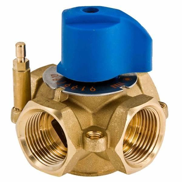 Трехходовой клапан для отопления с терморегулятором — виды и преимущества
