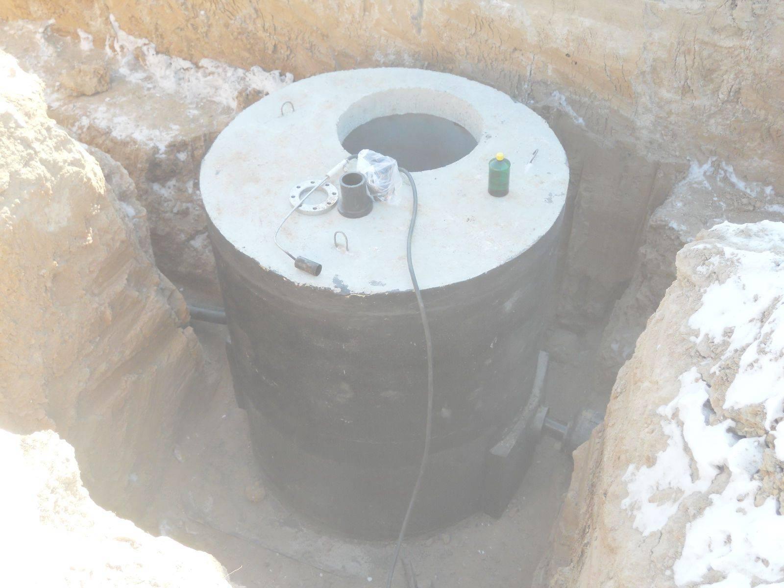 Гидроизоляция септика из бетонных колец — способы и материалы