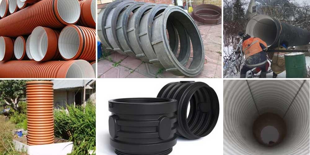 Колодцы канализационные пластиковые - виды, устройство, монтаж