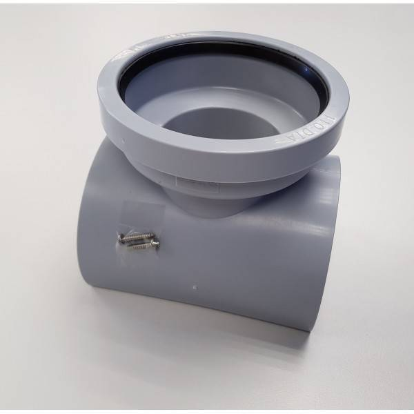 Как своими руками врезаться в канализационную трубу 110 мм