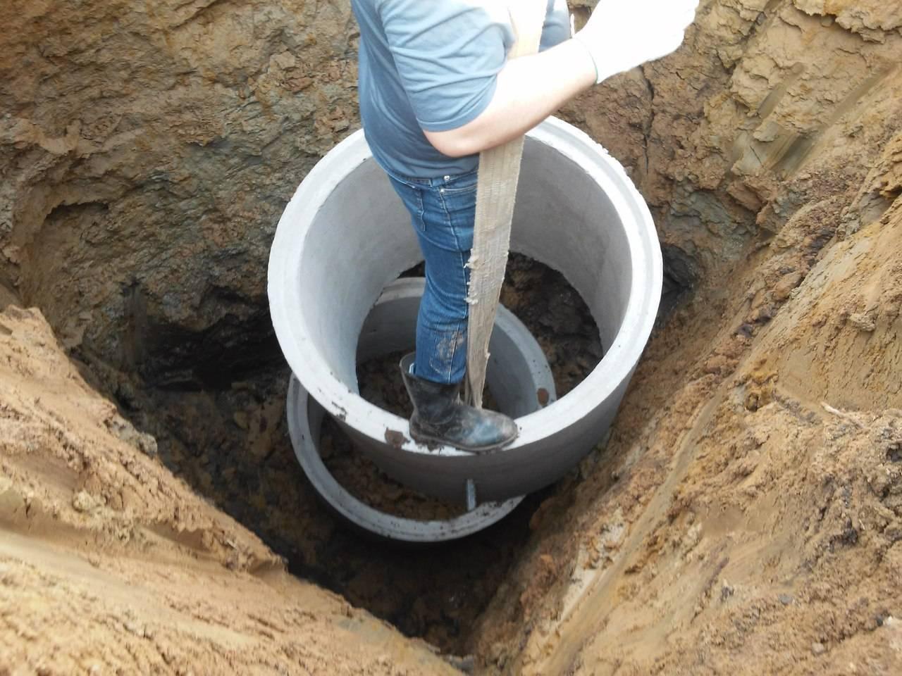 Как правильно выкопать котлован под септик