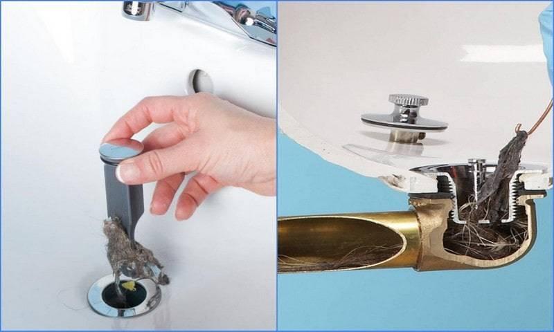 Как устранить засор в ванной – способы решения проблемы