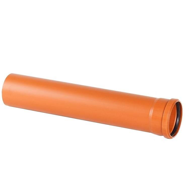 Трубы канализационные: трубы для наружной канализации, монтаж коммуникаций