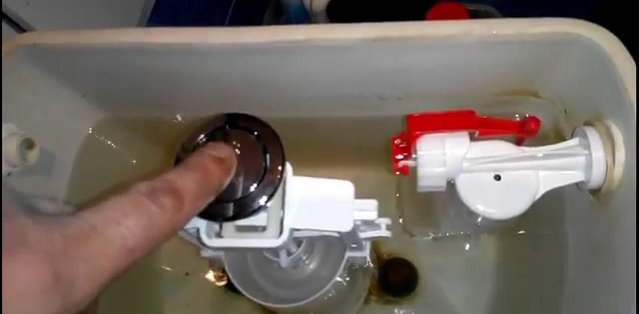 Протекает сливной бачок унитаза через клапан слива - всё о сантехнике