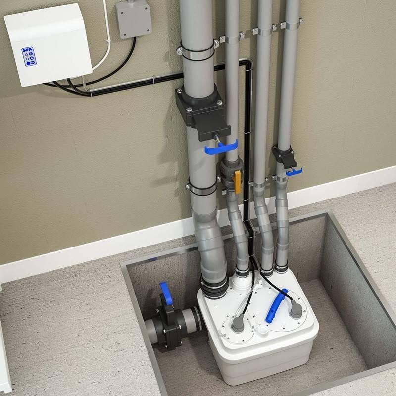 Вся важная информация о санитарных насосах для принудительной канализации