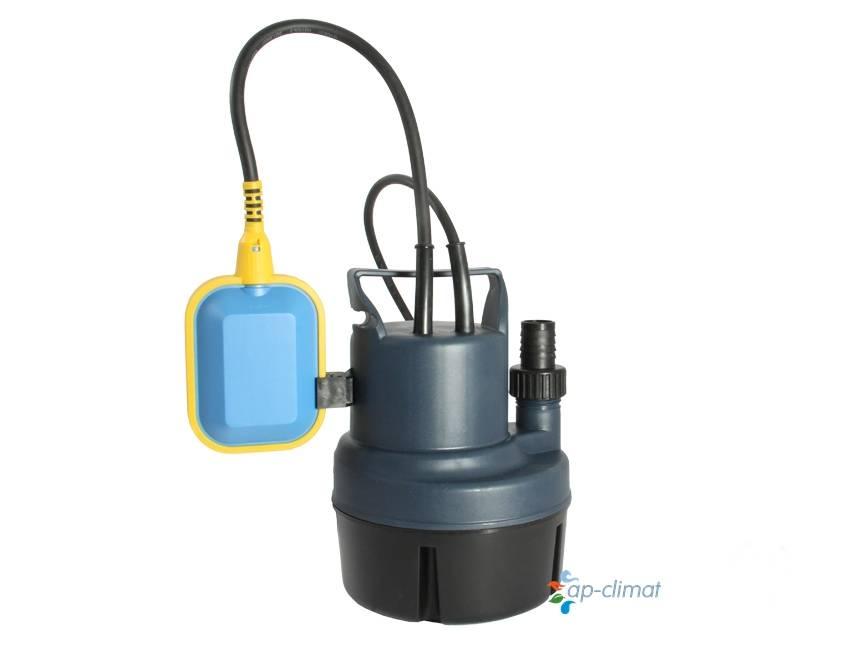 Погружной дренажный насос для откачки горячей воды