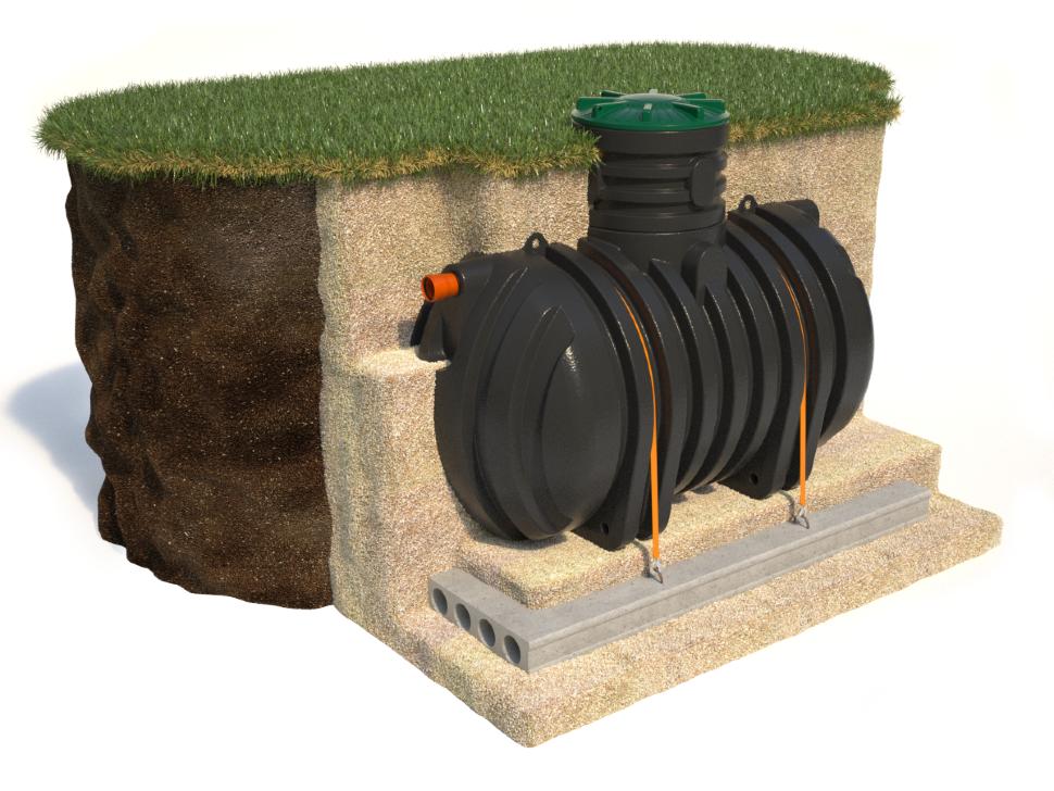 Емкость для канализации частного дома: виды и преимущества, установка