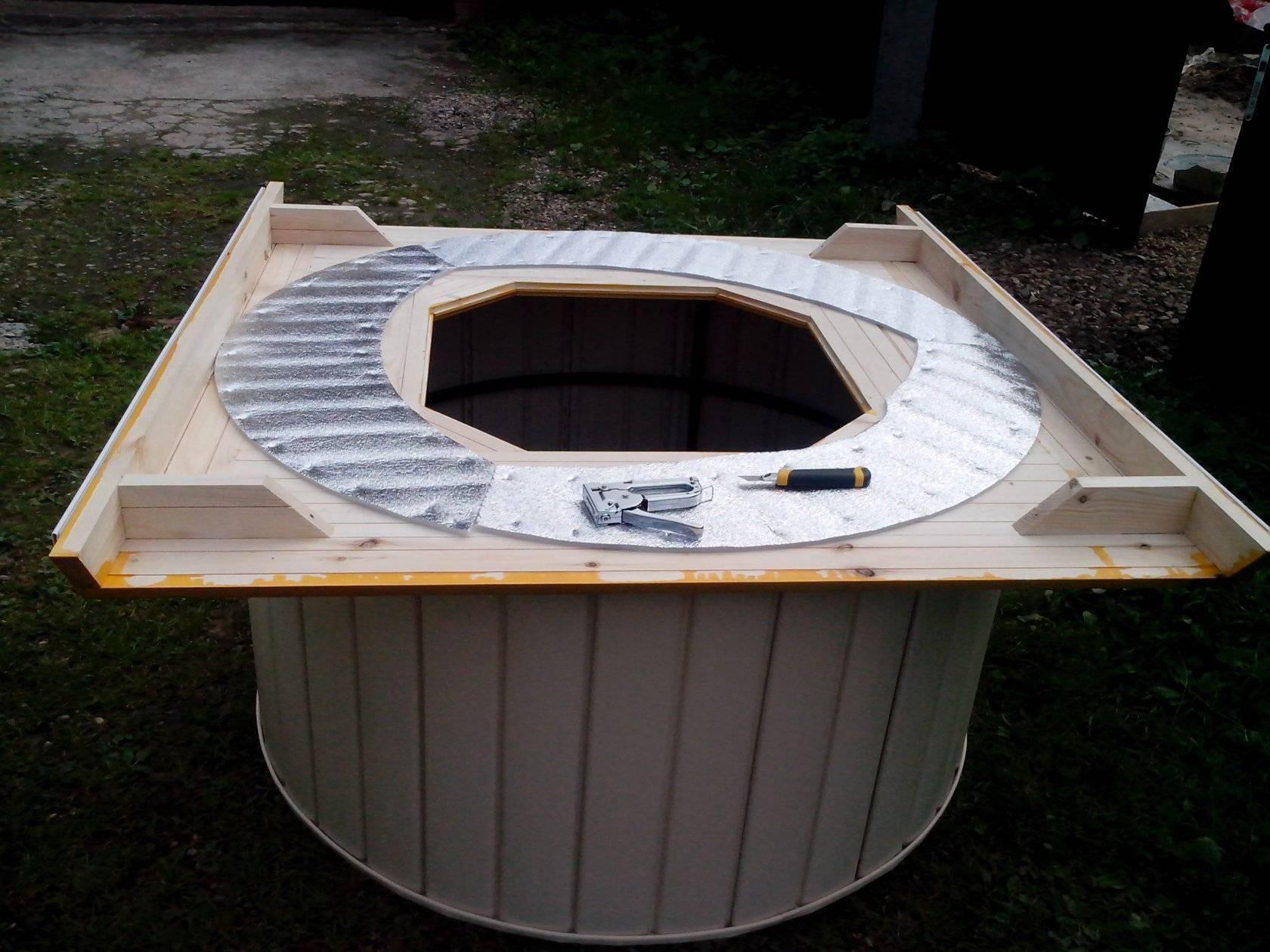 Пошаговая инструкция, как сделать домик для колодца своими руками