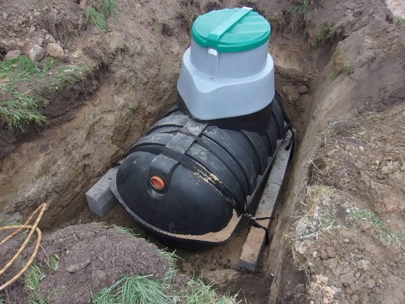 Накопительные емкости для канализации – 4 варианта резервуаров для утилизации бытовых стоков