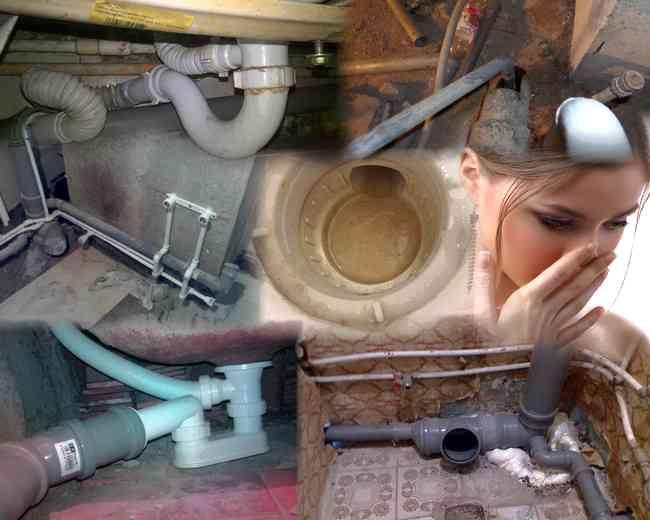 Запах канализации в ванной как устранить, причины