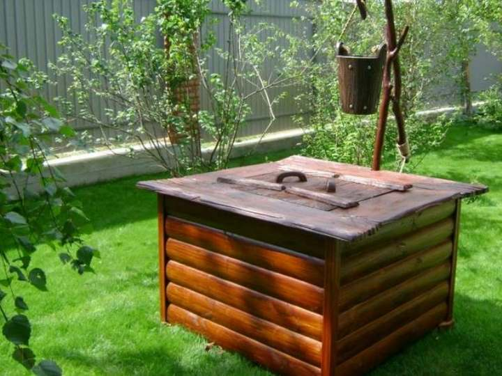 Домик для колодца: оригинальные решения в ландшафтном дизайне