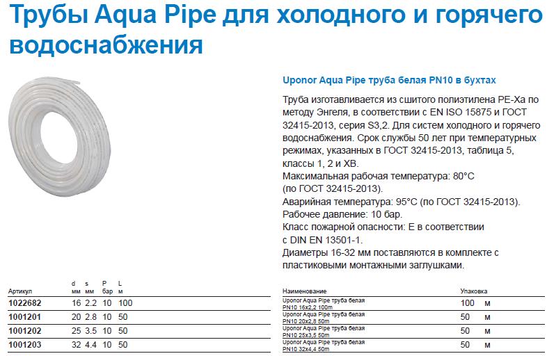 Трубы полиэтиленовые для водопровода: размеры напорных труб, диаметры, характеристики, гост