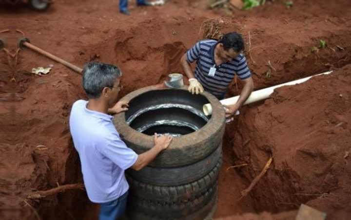 Выгребная яма из покрышек своими руками - все о септиках