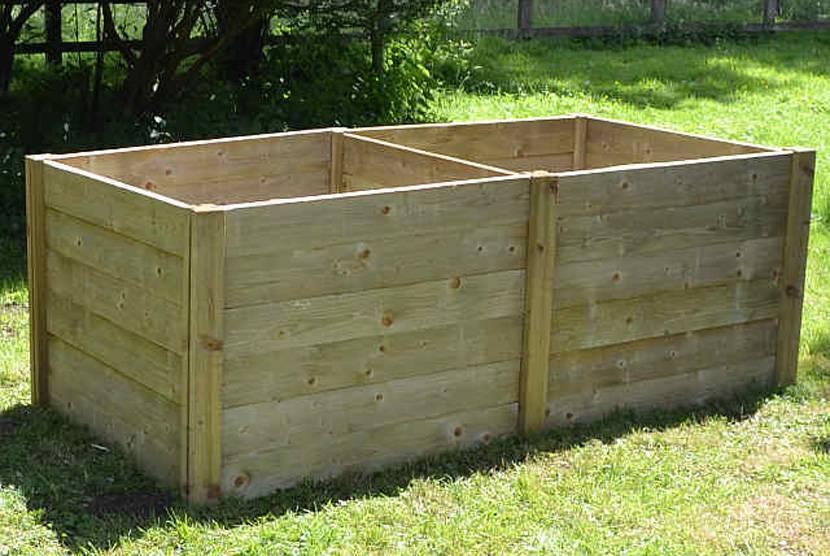Ящик для компоста: виды, размеры, изготовление своими руками