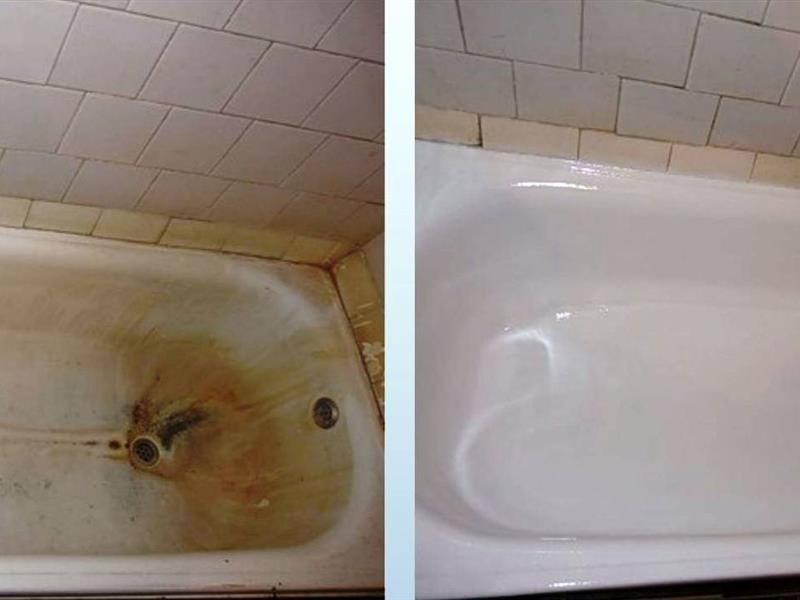 Как выбрать эмаль для ванны