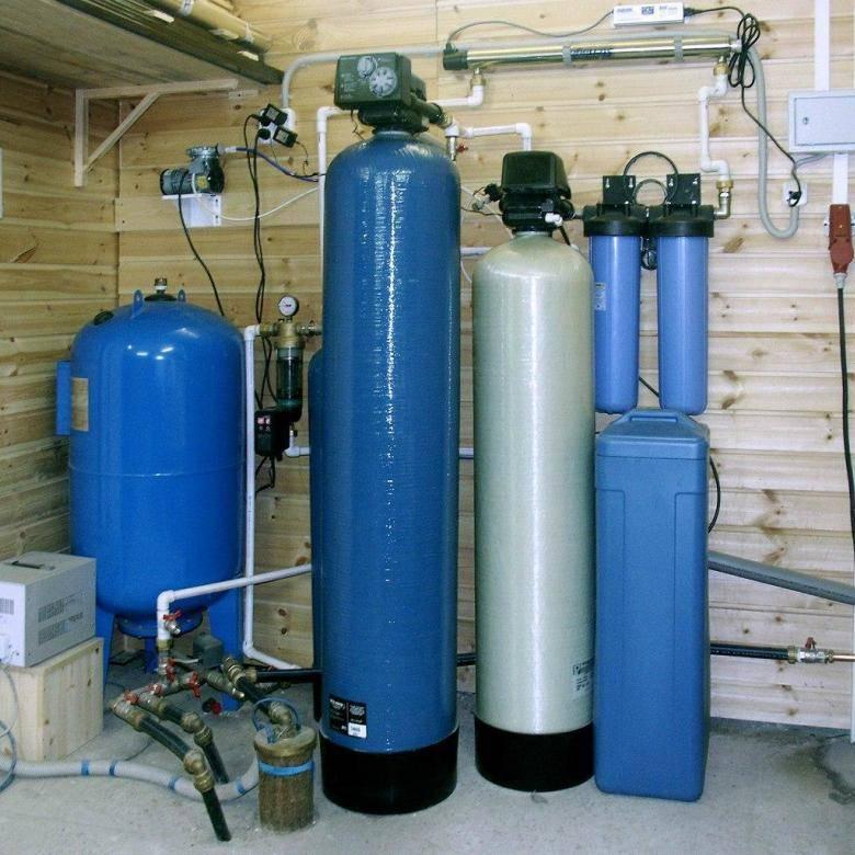 Фильтры для очистки от железных примесей на даче