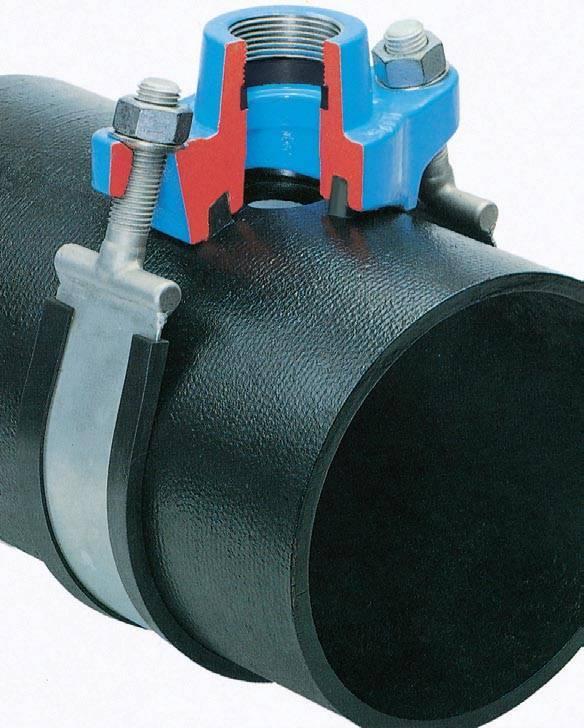 Врезка в трубу водопровода: как правильно делается