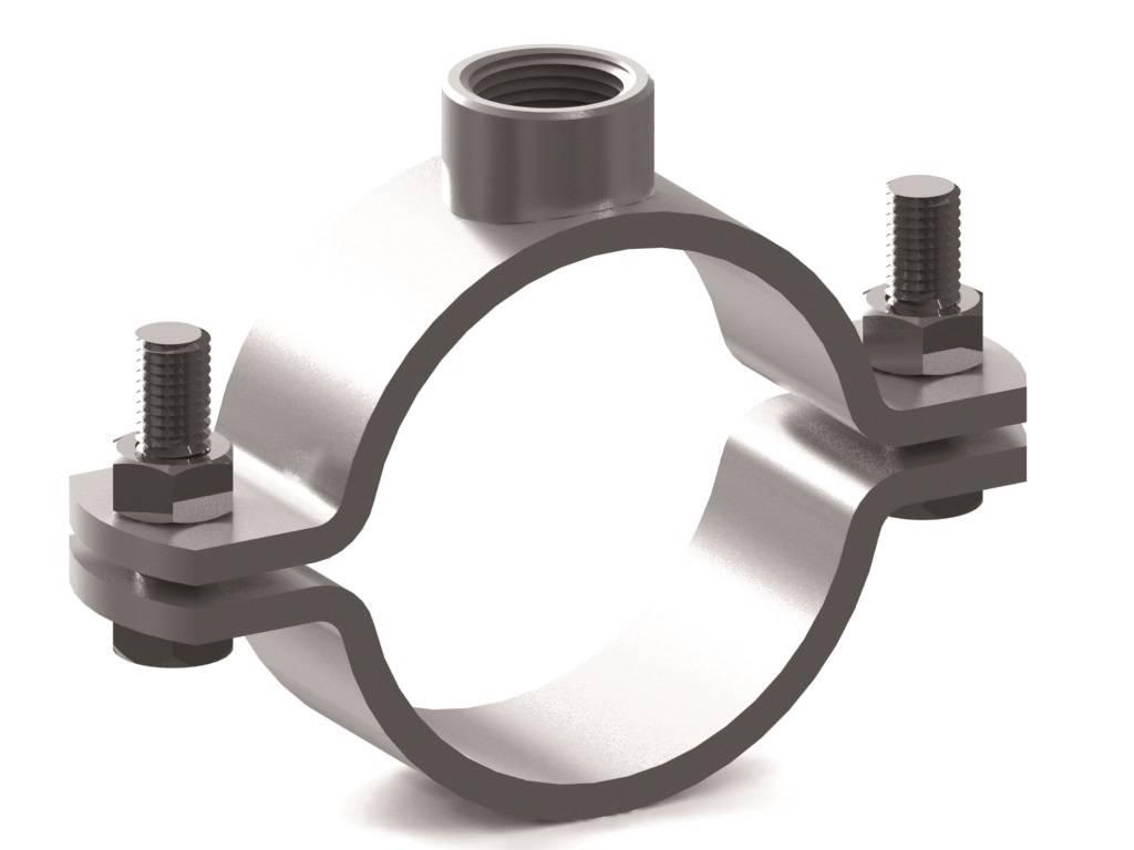 Как сделать хомут на трубу своими руками - о металле