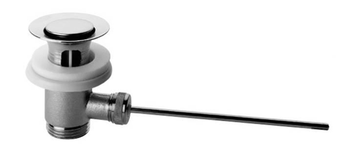 Что такое донный клапан для раковины и как его установить