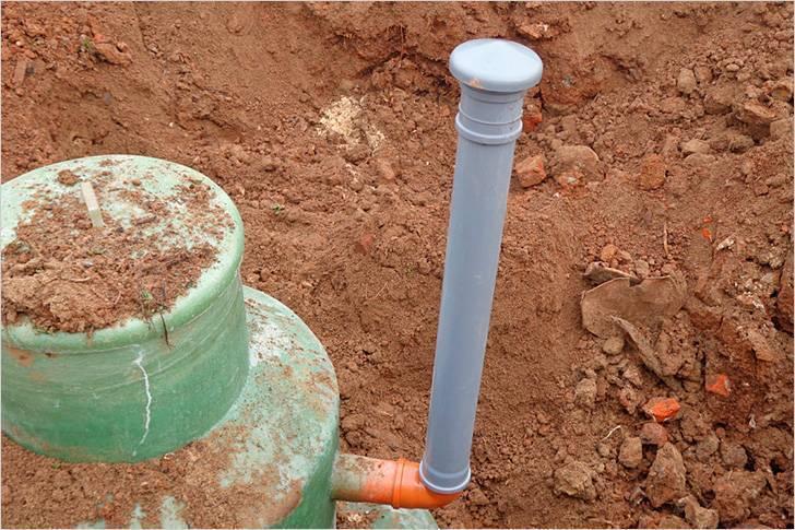 Вентиляция септика - все о канализации