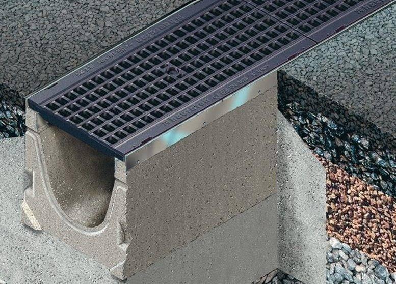 Лотки для ливневой канализации — бетонные и пластиковые