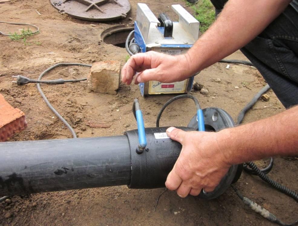 Технология электромуфтовой сварки труб пнд – преимущества метода