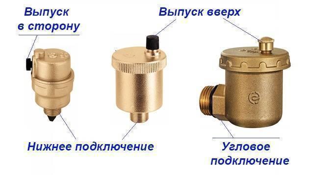 Предохранительный клапан в системе отопления: назначение и разновидности