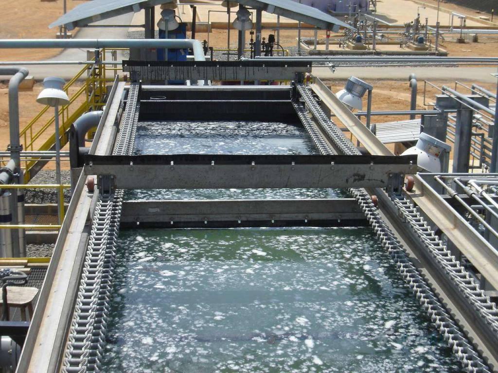 Очистка флотацией сточных вод, содержащих нефть и нефтепродукты