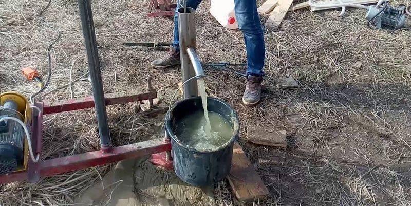 Как прокачать новую скважину под воду
