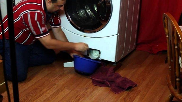 7 причин, почему стиральная машина не полоскает белье | рембыттех