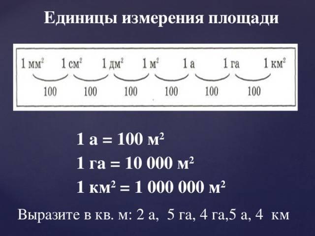 Сколько квадратных метров в гектаре земли калькулятор